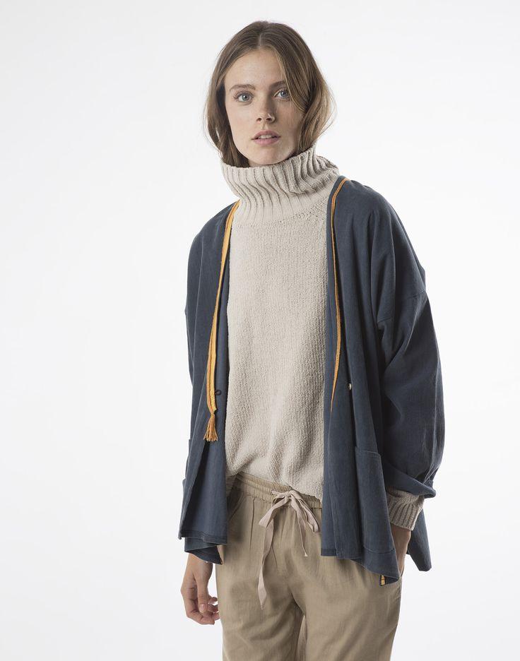 ropa chaqueta de pana | natura