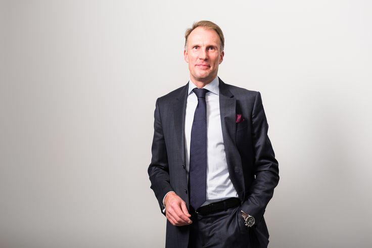 Toimitusjohtajamme Tapio Pajuharju.