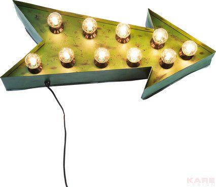 Kare design :: Kinkiet Arrow | OŚWIETLENIE \ kinkiety OŚWIETLENIE \ dekoracyjne WYBIERZ SWÓJ STYL \ Loftowy | 9design Warszawa
