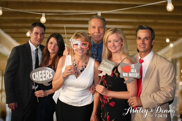 Customized Gifts That Your Wedding Guests Will Love | Add a TapSnap photo booth to your wedding for the ultimate entertainment!