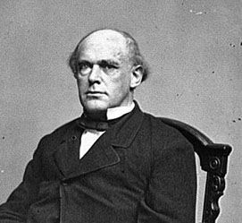 This is the person who was Lincoln's Secretary of the Treasury during the Civil War and Chief Justice of the Supreme Court immediately after.  His greatest failing was his overwhelming thirst for power.