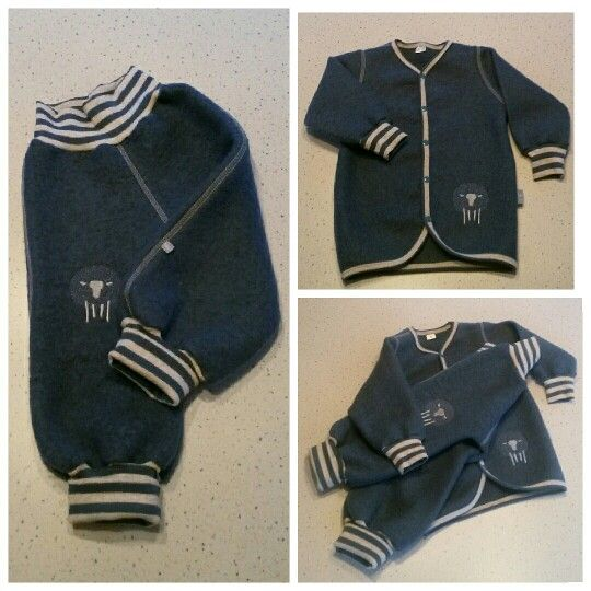 Handmade kids clothes in wool  Hjemmesydd barneklær I ull