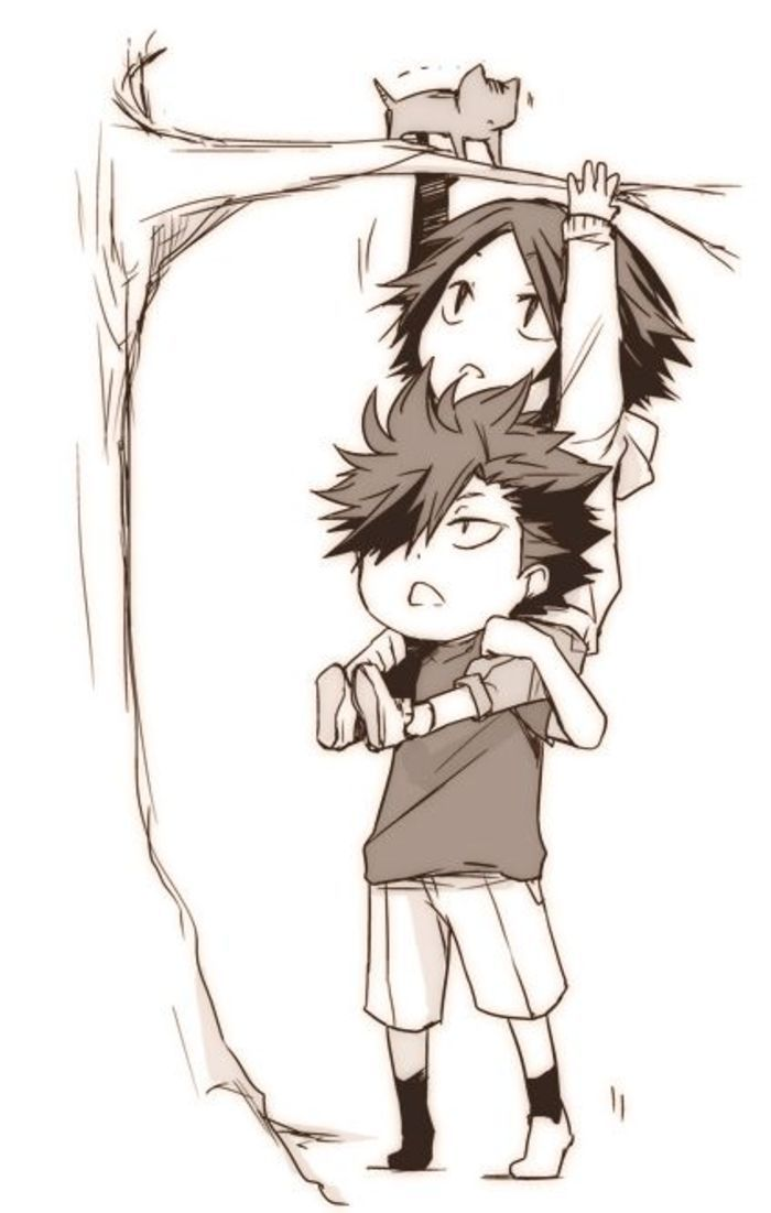 Kenma & Kuroo | Haikyuu!! | Karasuno crows! | Pinterest ...