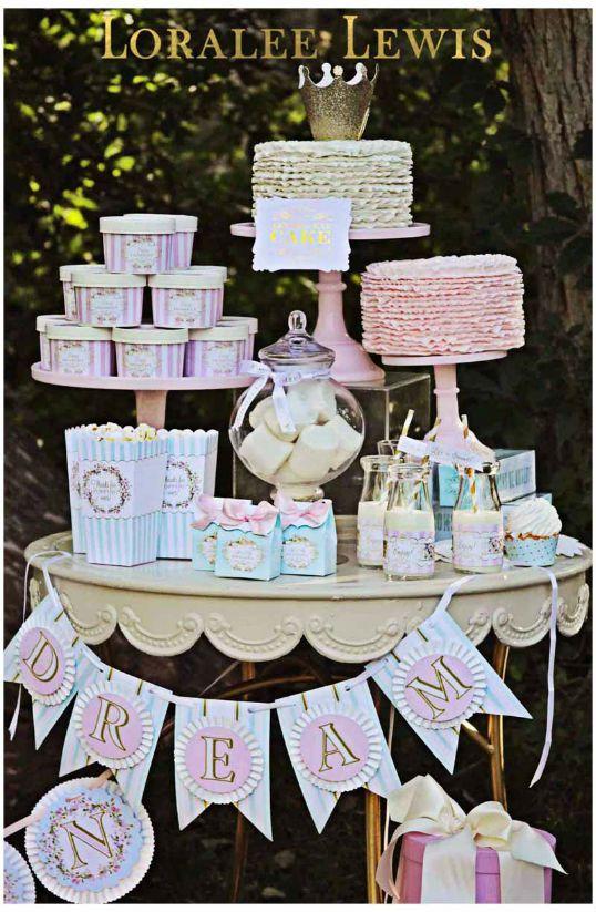 Birthday Party Ideas - Blog - Swan Lake Birthday PartyIdeas