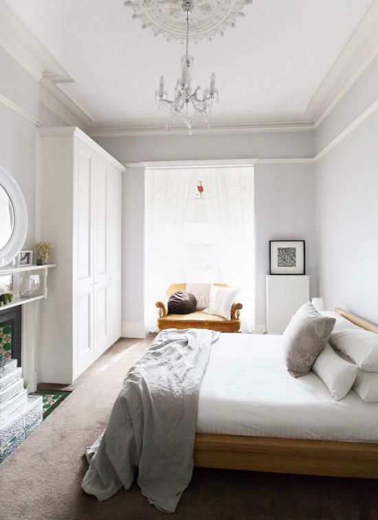 Serene Bedrooms Built In Wardrobe Grey And Cabinets