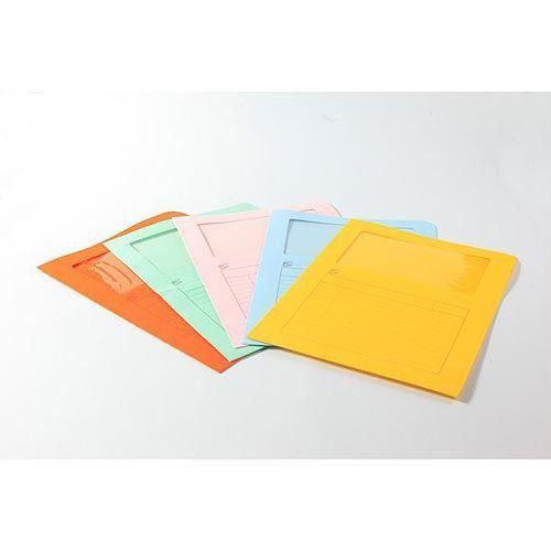 Cartelle colorate con finestra 5 Star 22x31 cm 120 g/mq Arancione - https://www.cancelleria-ufficio.eu/p/cartelle-68/