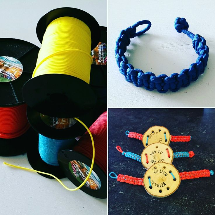 Maak iets moois van paracord op het Manana Manana festival. Knoop een eigen armband of maak een houten horloge.