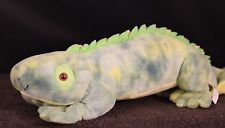 "20"" Kohl's Cares Stuffed Plush Iguana Hard to Find Lizard Reptile Toy Doll"