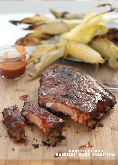 The Secret to Grilled Babyback Spare Ribs