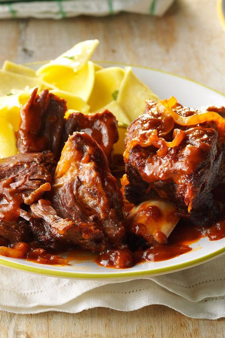 Hungarian Short Ribs Recipe from Taste of Home