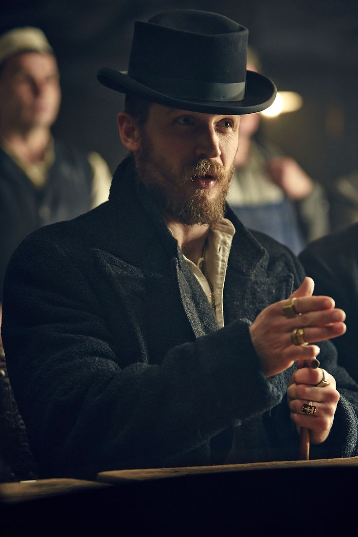 Tom Hardy as Alfie Solomons in Peaky Blinders series 2. Starts on BBC Two this Thursday at 9pm!
