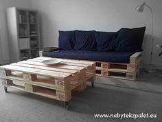 Pohovky | POHOVKA dvojsedák 80x220cm (výška 80cm) | Netradiční stylový nábytek - nábytek z palet.