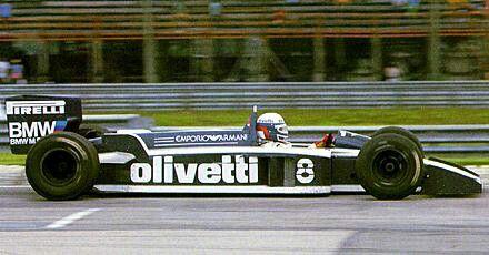 Brabham BT55. DeAngelis