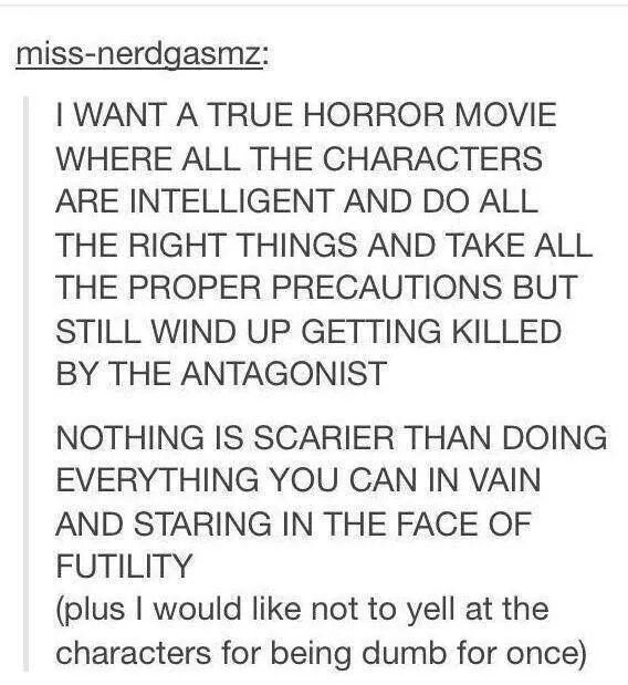 Horror Movie Quotes: Pin By Stefani Norman On Really Tumblr...?