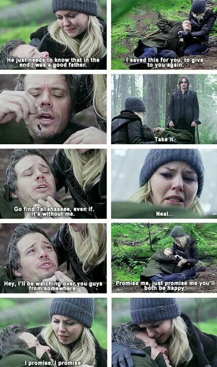 Neal + Emma #Swanfire // Leave me alone, I'm in pain.