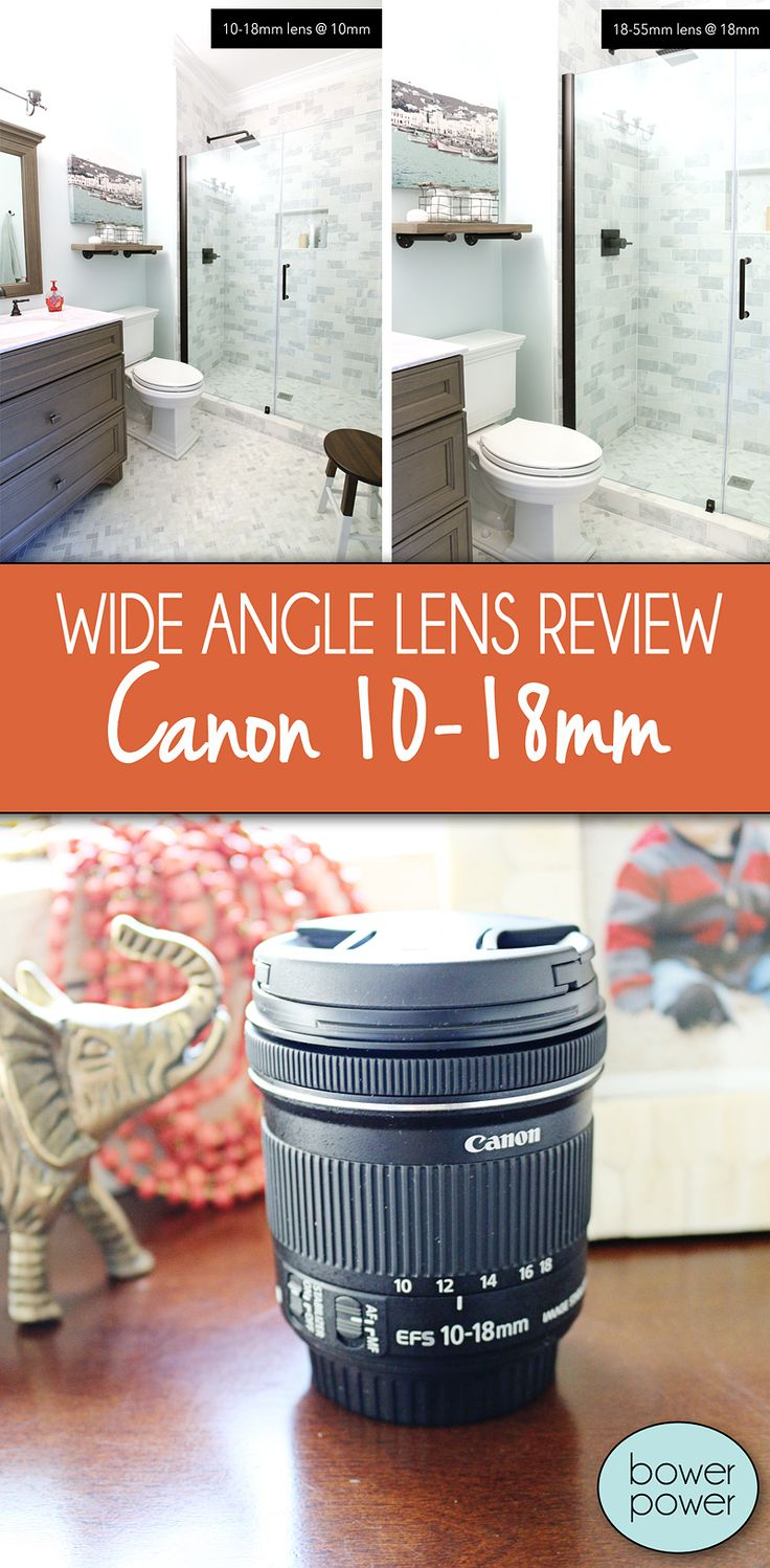10-18mm Lens Review for wide angle interior photography. This is one of the most inexpensive wide angle lenses from Canon and I'm here to share with you what I like about it. -Bower Power