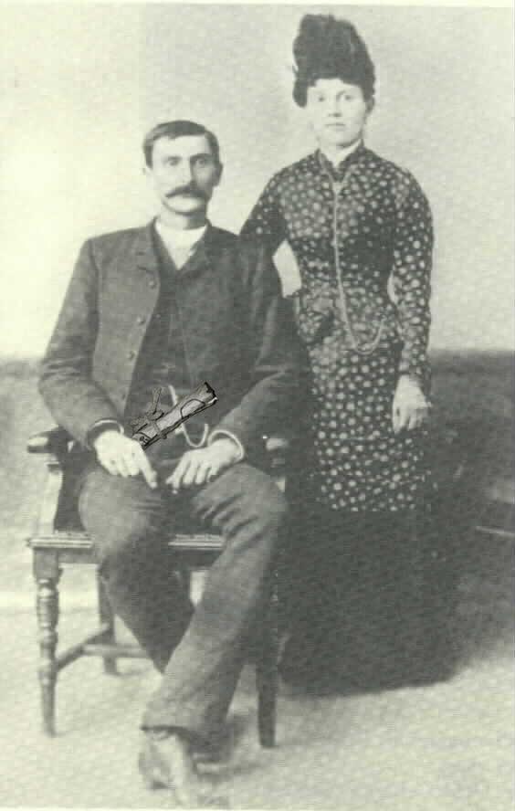 Pat Garrett et sa femme