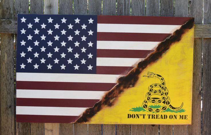 American Flag Don T Tread On Me Flag Gadsden Flag