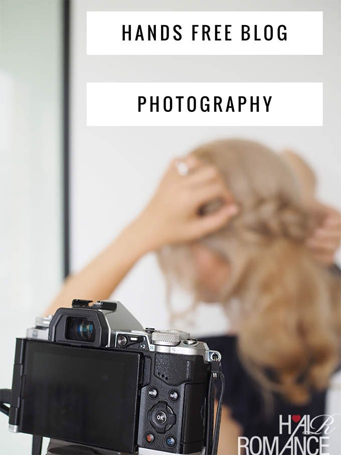 How I take photos with my feet – the ultimate guide to hands-free blog photography - Hair Romance