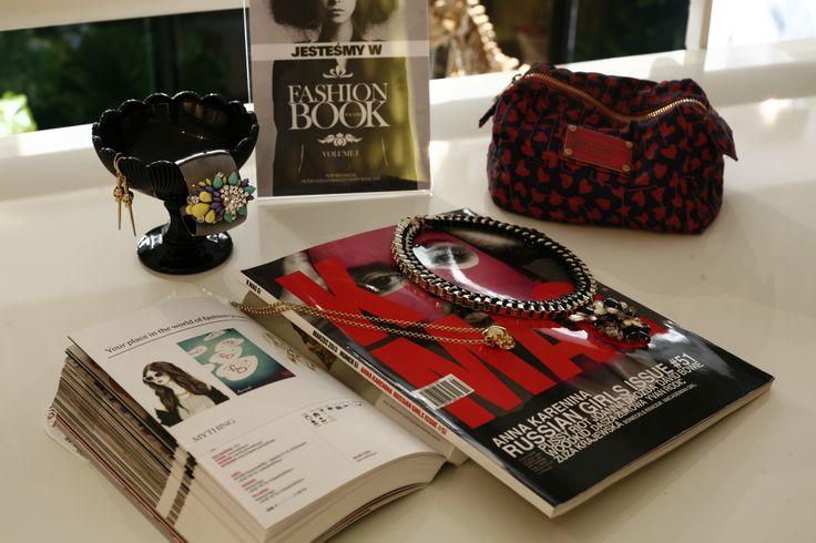 Biżuteria mything.eu working desk