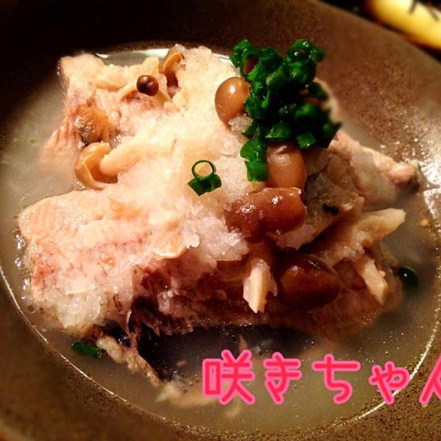 塩麹で✨ニシンの梅おろし煮