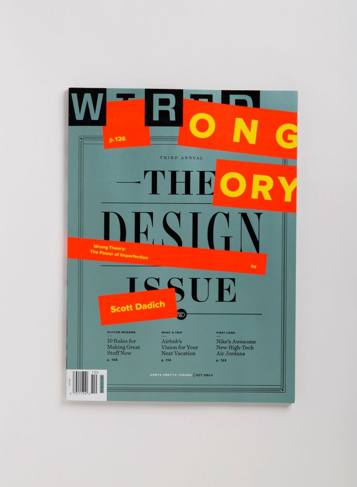 Wired Cover 2014 Design Issue Cd Billy Sorrentino Great Cover Story Essay By Scott Dadich
