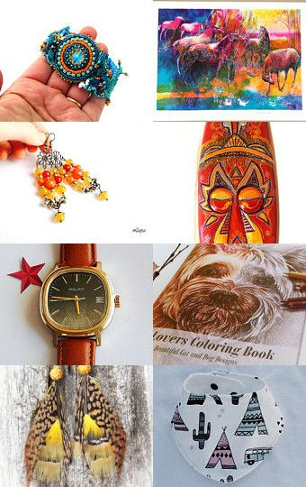 Chill out in autumn by Milda Jewelry on Etsy--Pinned with TreasuryPin.com