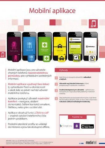 Mobilní aplikace společnosti MEDIATEL. #Mediatelcz #Smartphone #Apps