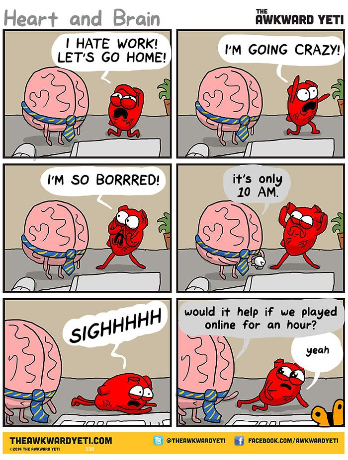 me at work... Heart And Brain