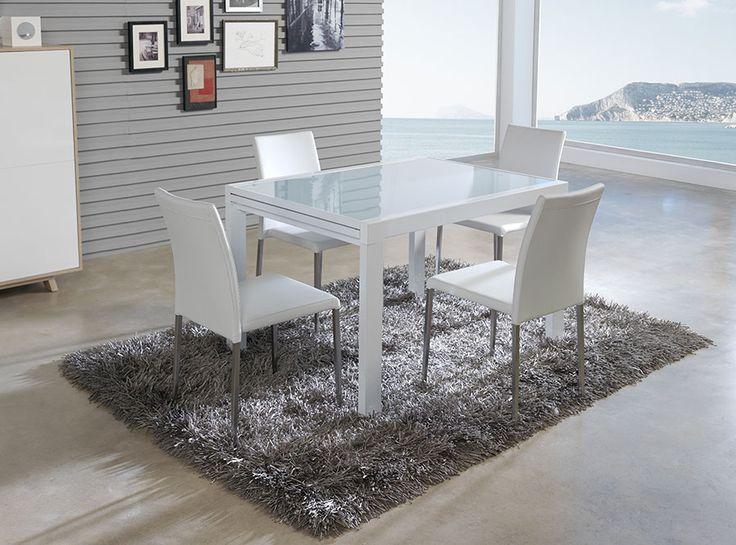 Table de salle manger rectangulaire avec rallonge - Table rectangulaire avec rallonge ...