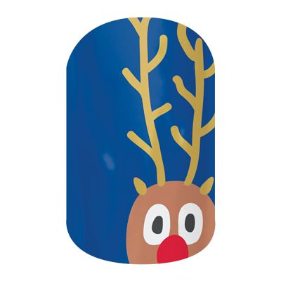 Reindeer Games  nail wraps by Jamberry Nails