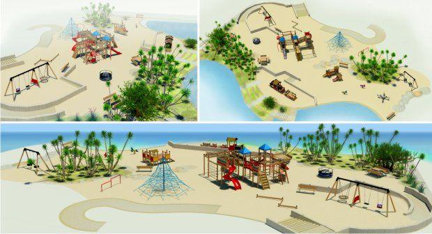 Projekt 3D dla hotelu Mariott, Jordania