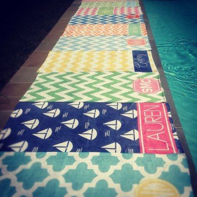 haymarket designs beach towels