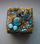 lovely polymer clay jewelry box!!!