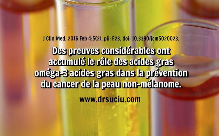 Photo Les Oméga 3 contre le cancer de la peau - drsuciu