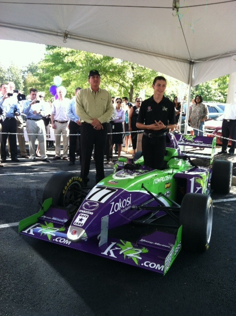 K12 Kids are Amazing: Meet Race Car Driver Zach Veach | thinktanK12 Blog