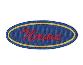 Polka Dot Custom Name Patch