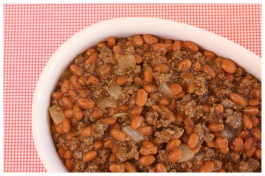"""Cowboy"" Beans ... with memories of Blue Bell Lodge ... where the Senator and I were married ..."