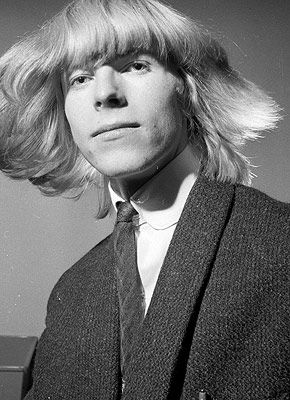 David Bowie at the beginning of his career (David Jones then)