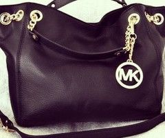 Michael Kors Purse. Love black and gold.