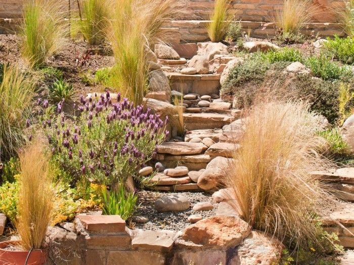 1001 Idees Et Conseils Pour Amenager Une Rocaille Fleurie Charmante Amenagement Jardin Rocaille Idee Amenagement Jardin