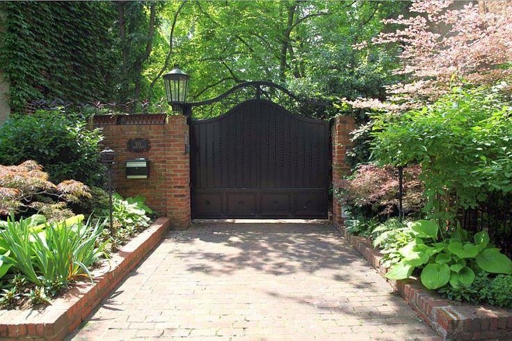 idei pentru spatiul de la poarta gate landscaping ideas 1