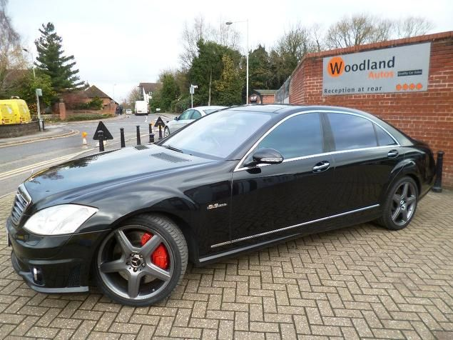 2007 Mercedes-Benz S Class 6.2 S63 AMG Limousine 7G-Tronic 4dr FULL M/B SERV HISTORY Petrol NEWBURY - Top Marques