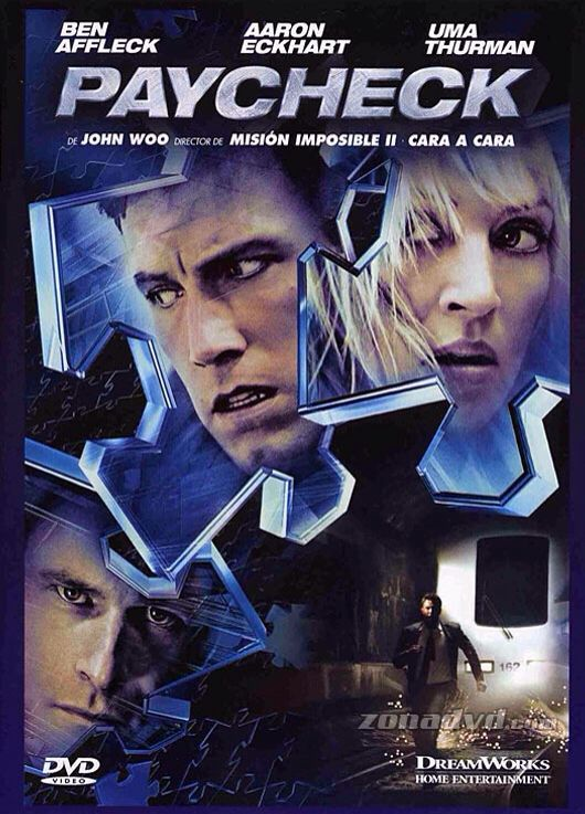 El Pago (Paycheck) Movie - DVD front image (front cover)