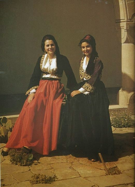Costumes from Cyprus - pour CHYPRE