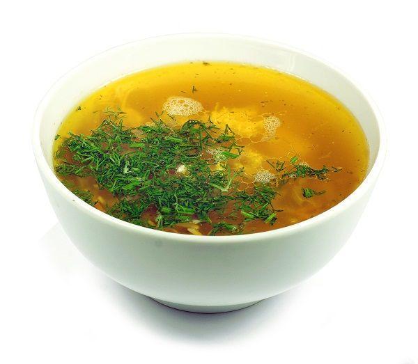Суп вермишель с курицей калории
