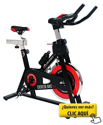 Bici spinning Fit-Force con volante de inercia de... #bicicleta