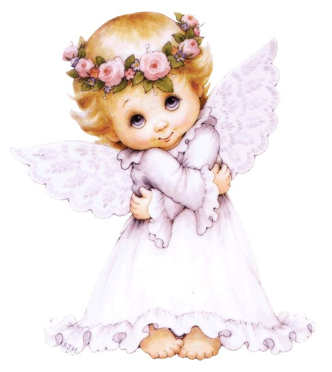 Дети ангелочки открытки