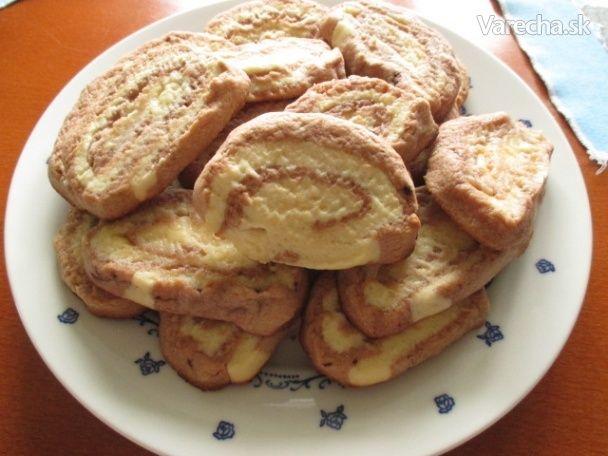 Keksíkové slimáčiky (fotorecept) - Recept