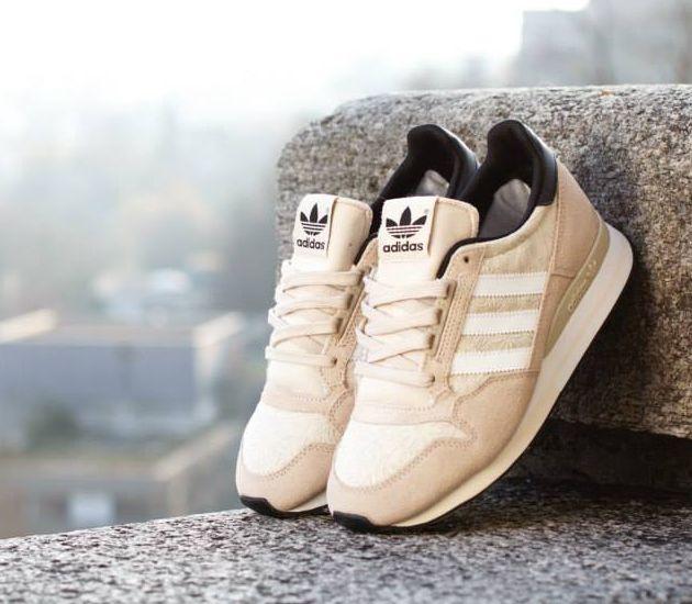 adidas originals zx 500 og retro white sneakers